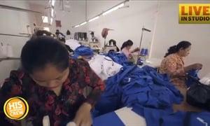 Fashion Bloggers Work in Cambodian Sweatshop