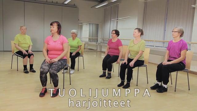 Liikettä niveliin-Tuolijumppa: Harjoitteet