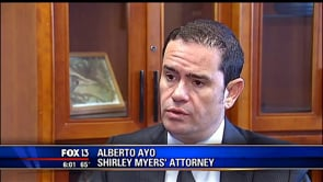 Fox 13 Interviews Alberto Ayo on the Judge Myers situation