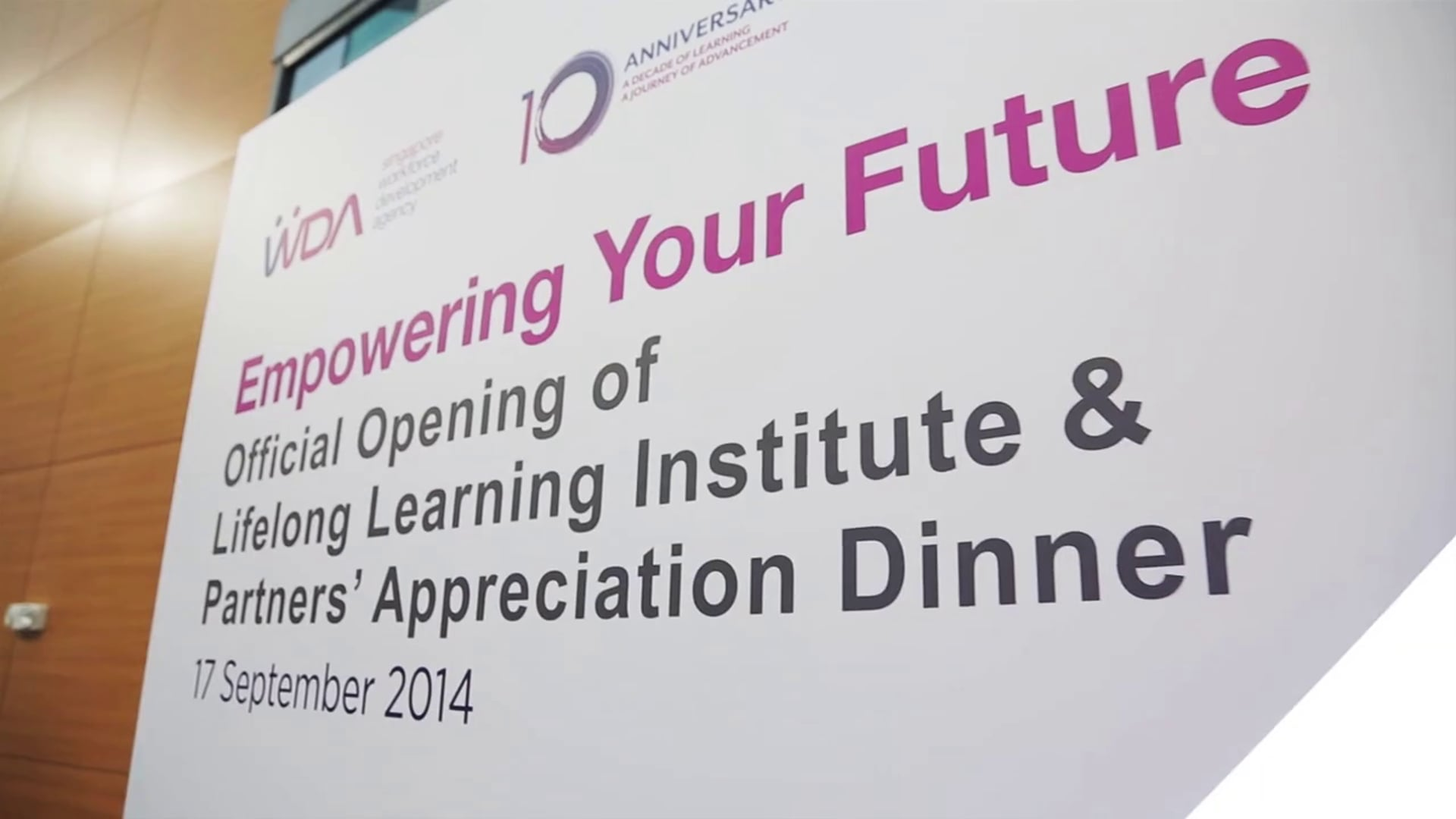 Launch of Lifelong Learning Institute
