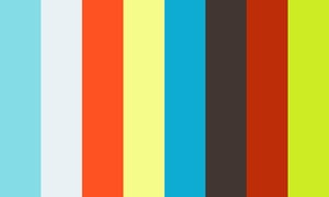 Man in Business Suit Braves Storm