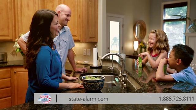 State Alarm Home Security 30sec