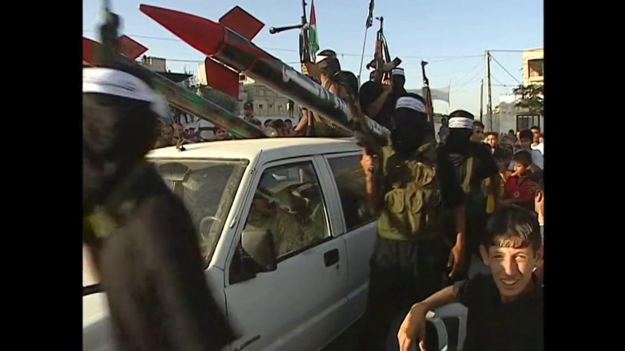 Holy Land 2004 - The West Bank - Abu Mazen