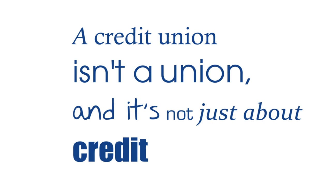 Have you heard of Credit Union? #PassItOn