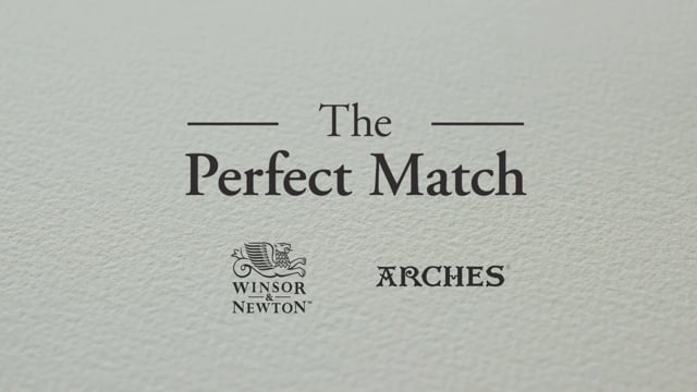 The Perfect Match - W&N introduces Arches Paper