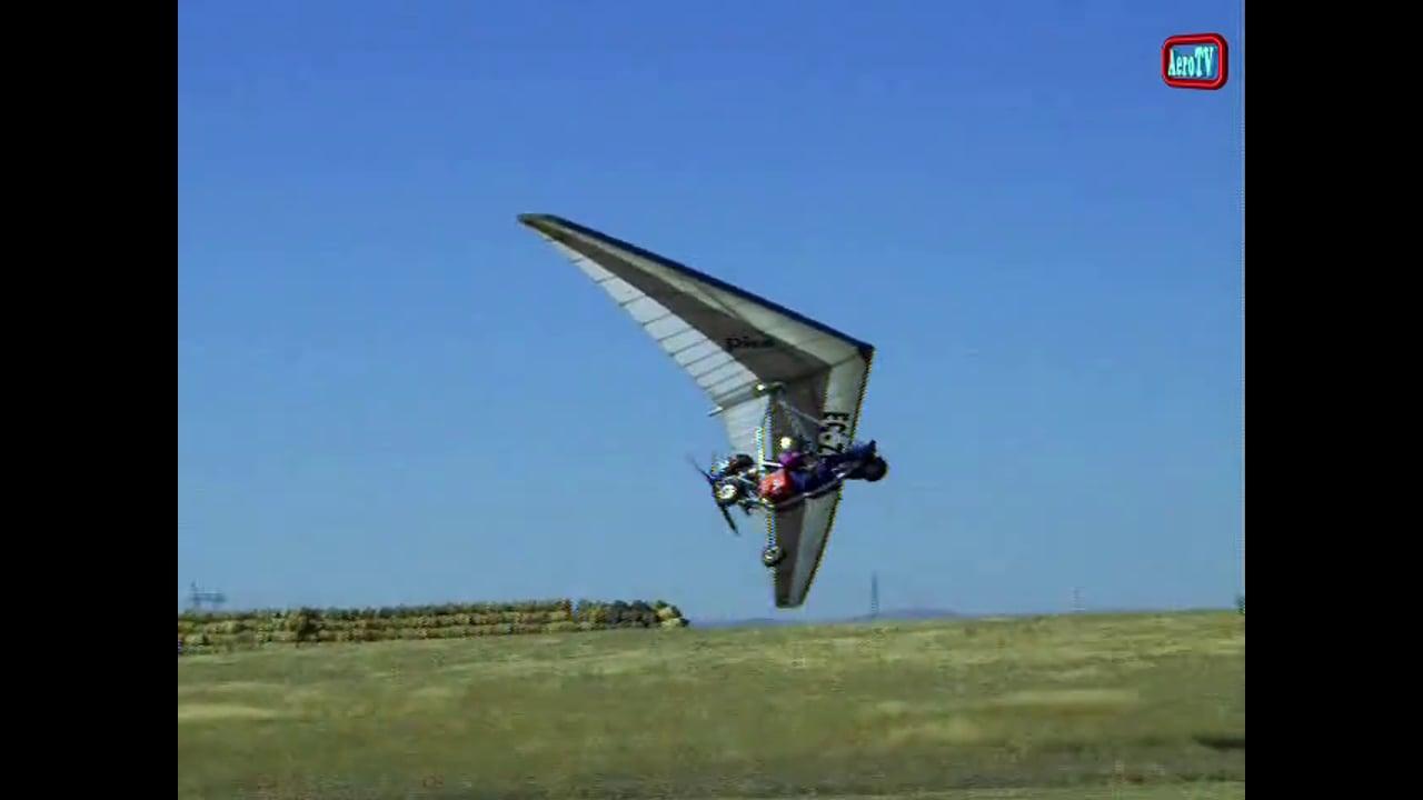 3a Trikerada 2008 en el aerodromo de Marugan en Segovia