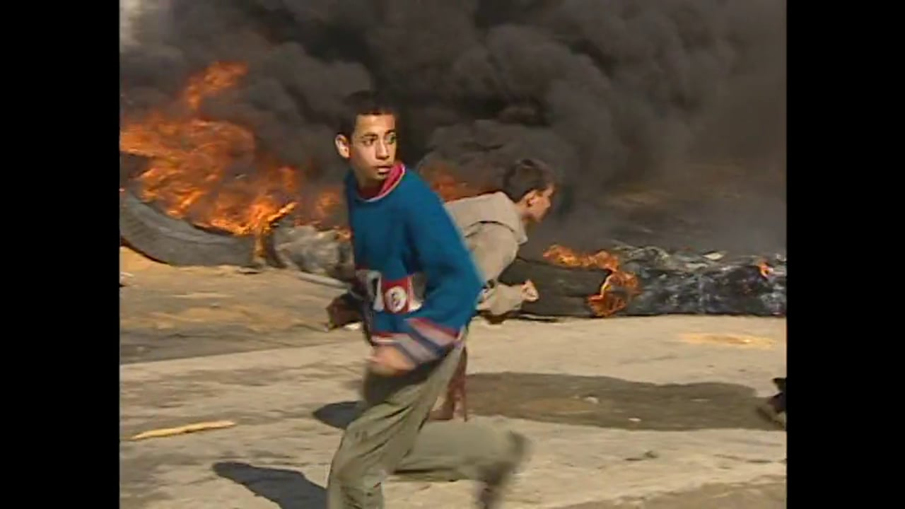 Holy Land 2001 - Gaza - IDF Incrusion