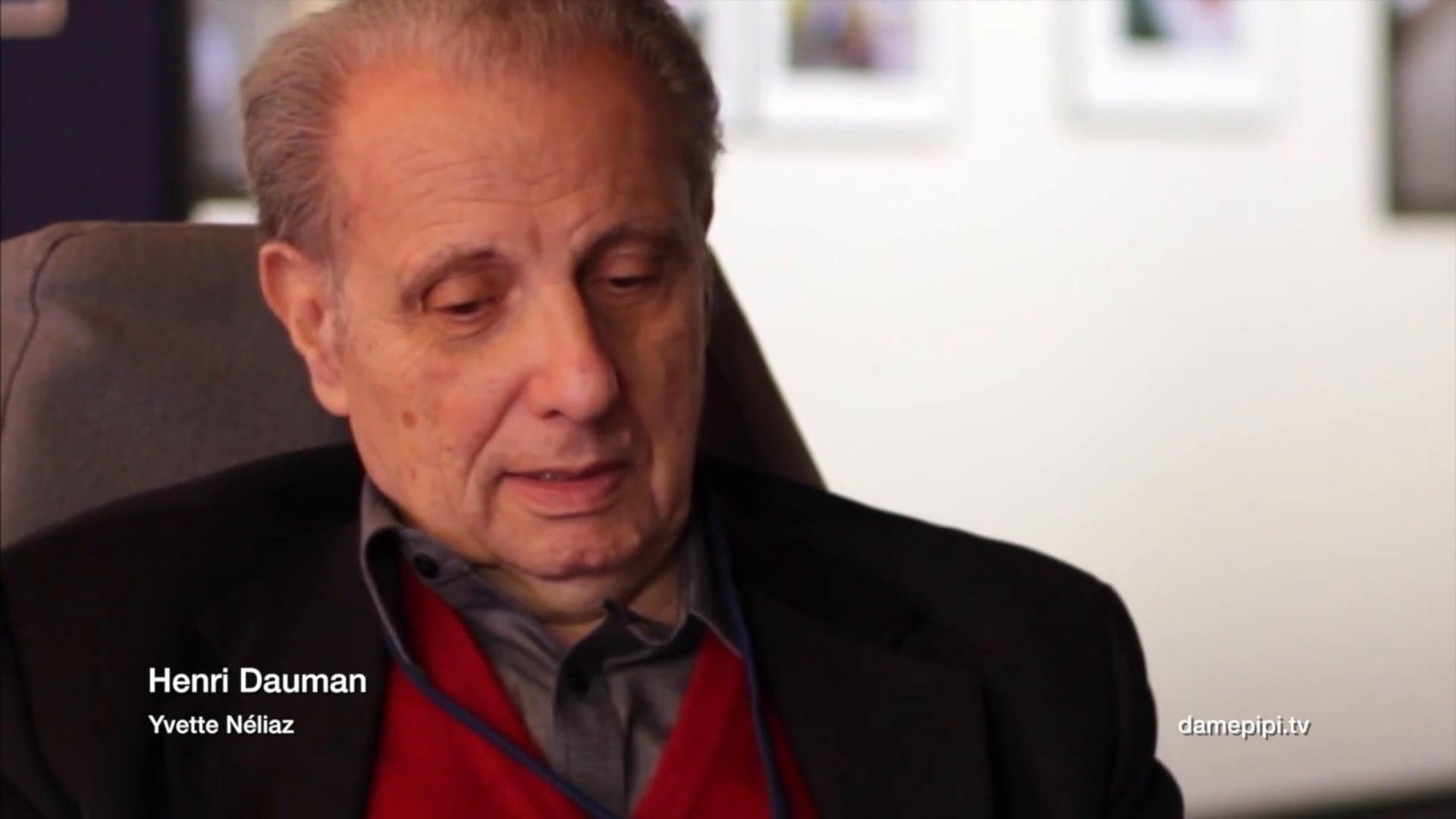 Henri Dauman interview Palais d'Iéna