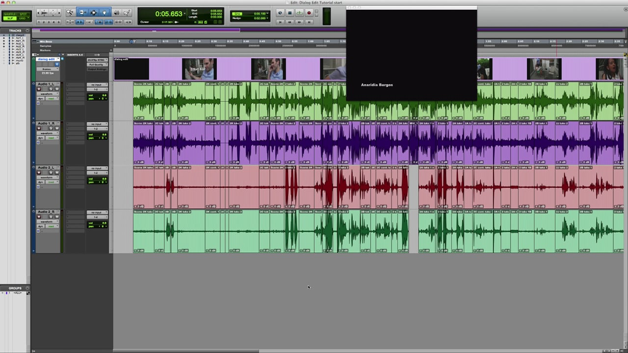 Dialogue Editing 1 Setup