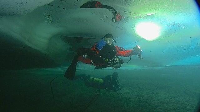 Morskie Oko, trening podlodowy TOPR 01/2015