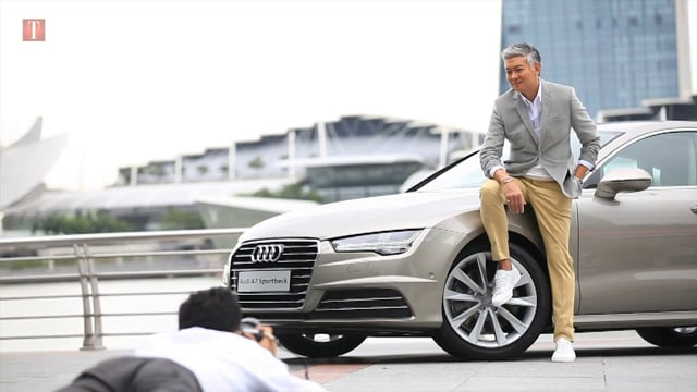 Dick Lee with Audi A7