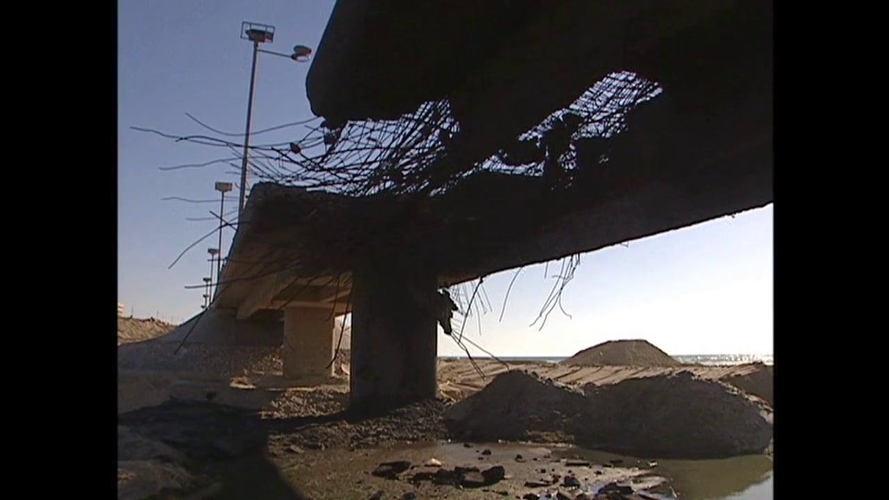 Holy Land 2006 - Gaza - Burned Bridges