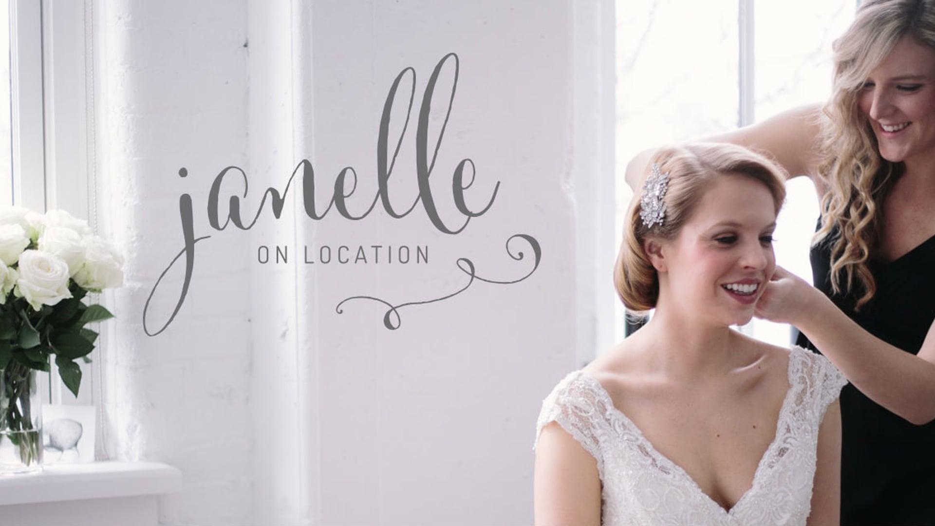 Janelle On Location