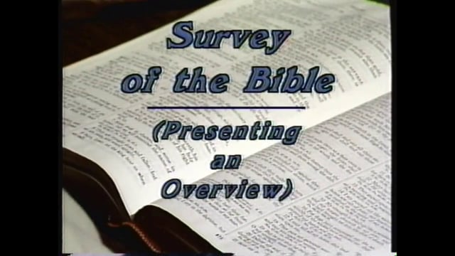 Lesson 3 - The Central Message of the Bible