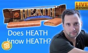Does Brandon Heath know Heath Bar?