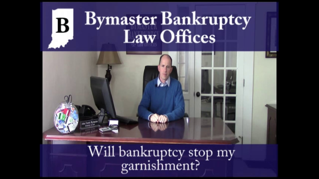 Will bankruptcy stop my garnishment?