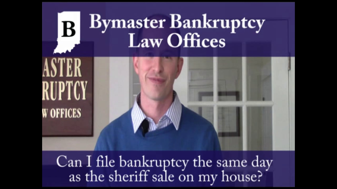 What if I need to file bankruptcy the same day as my consultation?