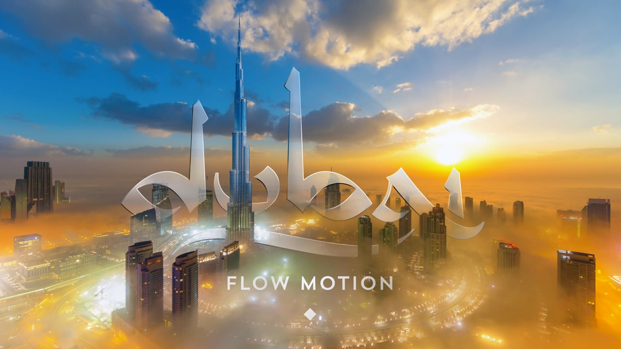 Dubai Flow Motion  - A Rob Whitworth Timelapse