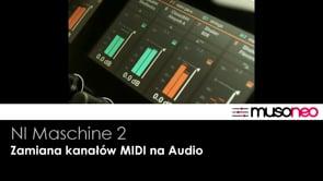Zamiana ścieżek MIDI na audio w DAW