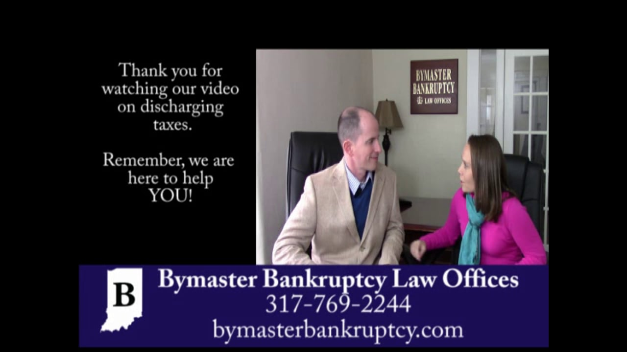 Can tax debt be discharged in bankruptcy?