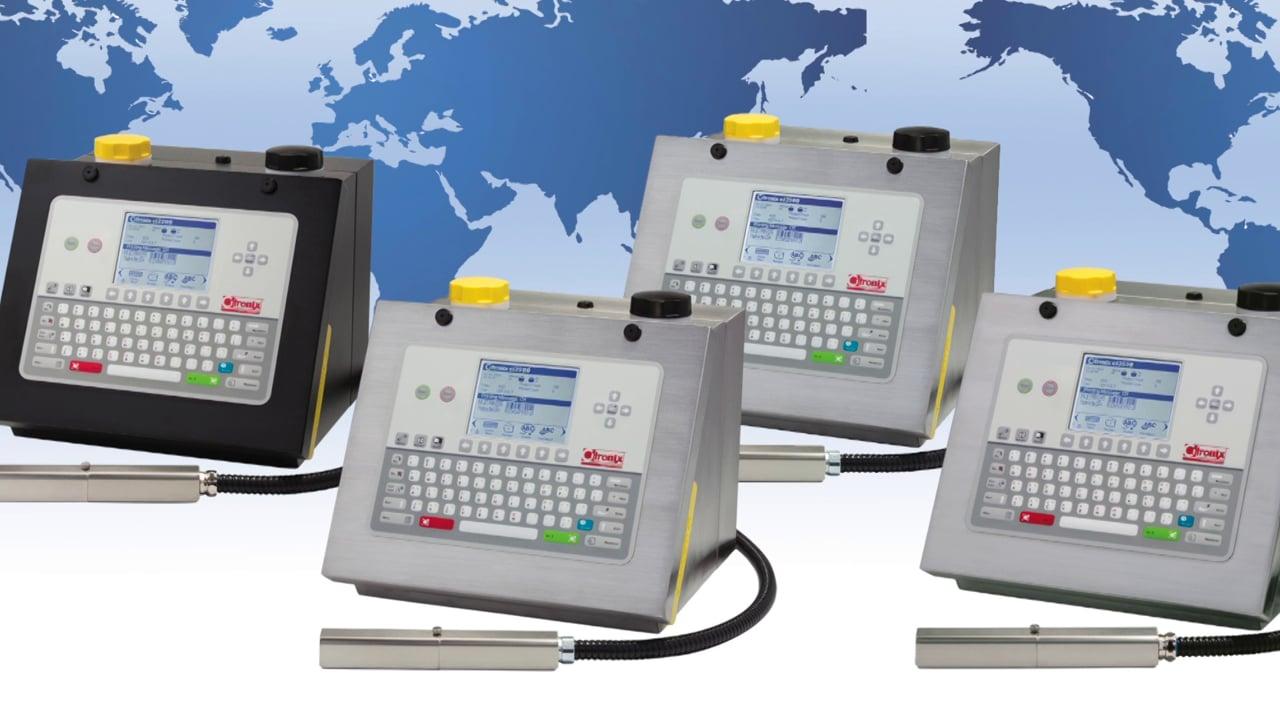 Citronix Ci3000 serie klein karakter inkjet printers