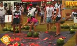 Melon Skiing in Australia