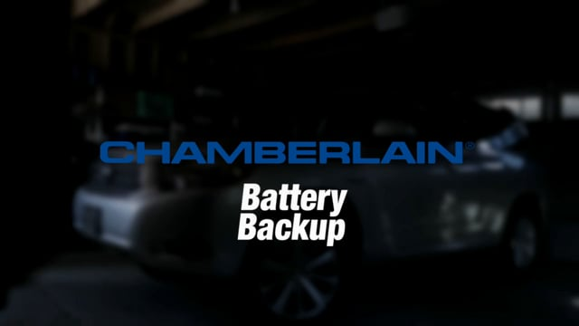 Battery Backup | Garage Door Opener, Chamberlain Group