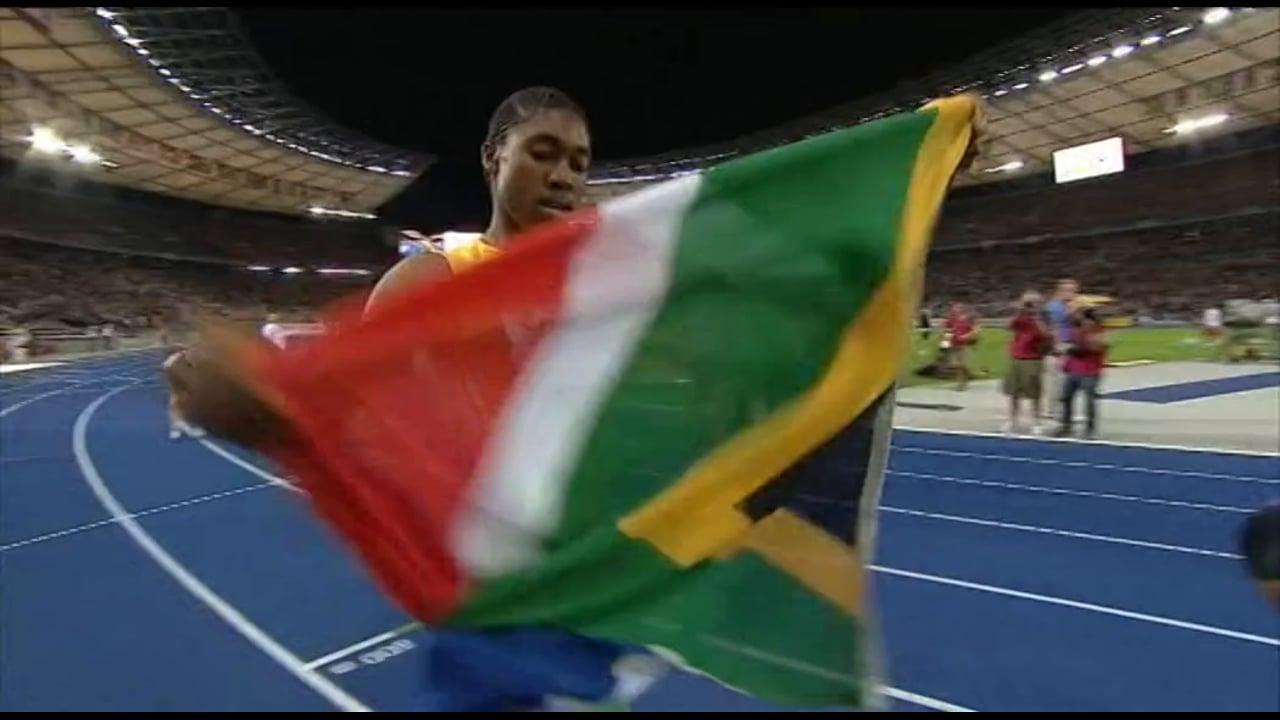 South Africa 2009 - Caster Simenya Leaks