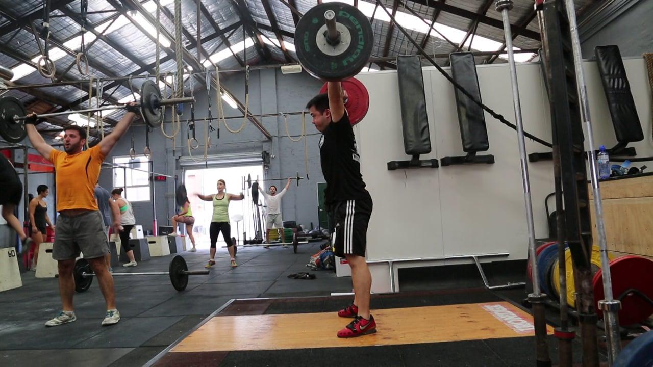 Snatch 90kg Kenso (70kg)
