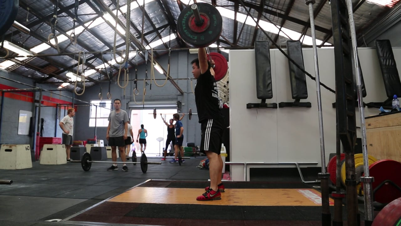 Snatch 95kg Kenso (70kg)