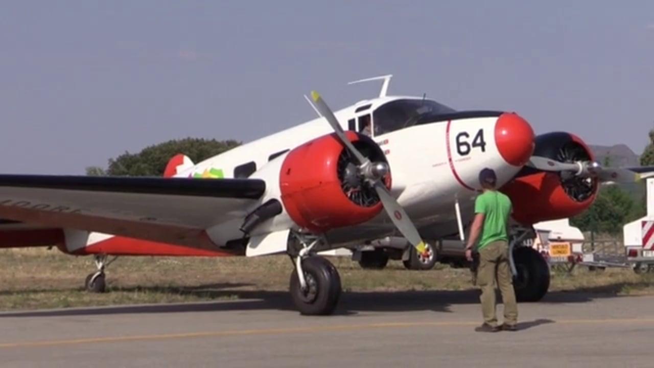 Beechcraft Modelo 18. Coleccion AeroTV