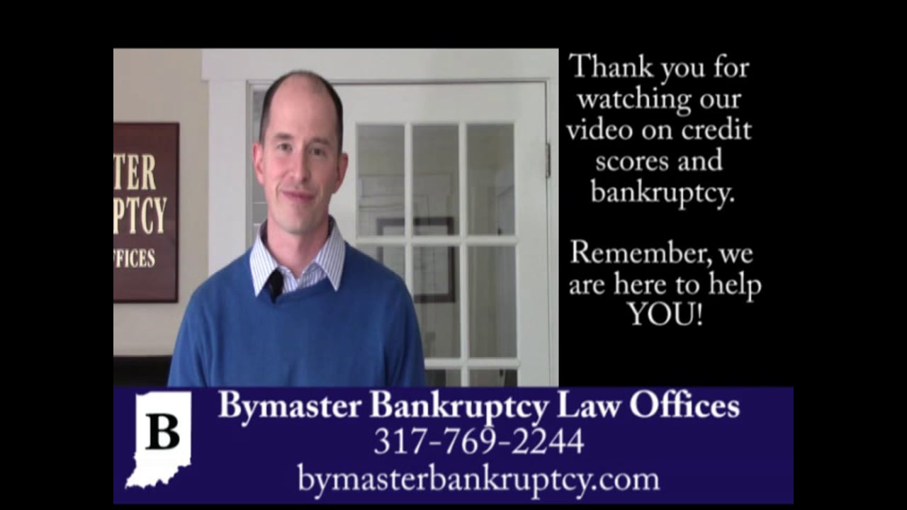 How can I re-establish my credit score in bankruptcy?