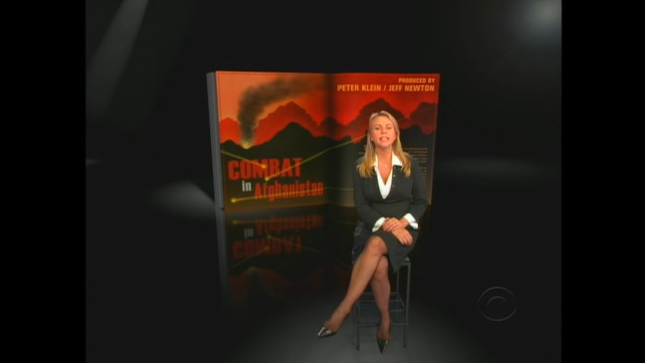 CBS 60 Minutes - Combat in Afghanistan - 2008