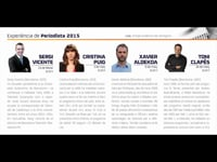 Experiència de Periodista 2015 - Sergi Vicente
