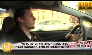 Program Hires Vets as Taxi Drivers