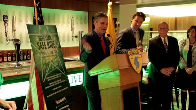 Heineken - New Year. Safe Ride - Mayor Tom Roach