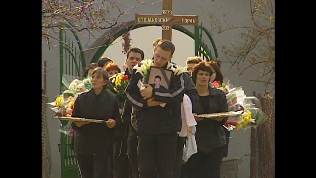 Macedonia March 2001 - A Policeman's Funeral