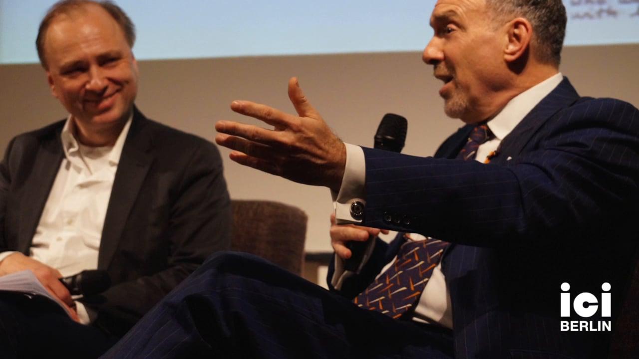 Steve Wasserman in Conversation with Gregor Dotzauer [Part 2, 3]