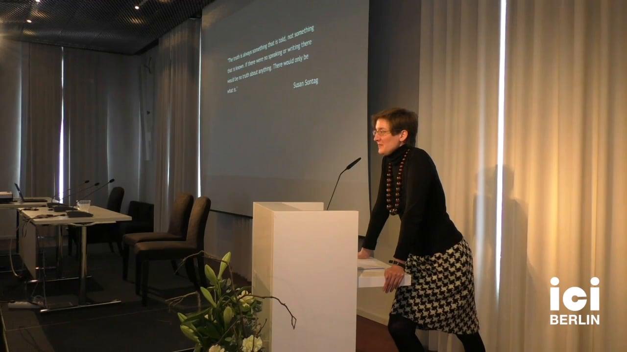 Introduction by Christina Tilmann [Part 1, 3]