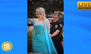 Elsa Arrested in Charleston