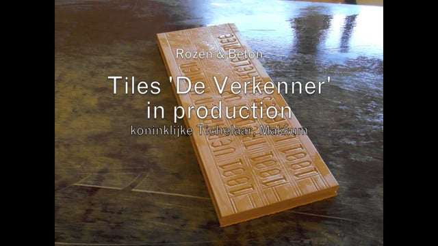 DE VERKENNER, UTRECHT - Ceramic tiles in production