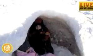 Check Out Rare Lake Michigan Icecanos