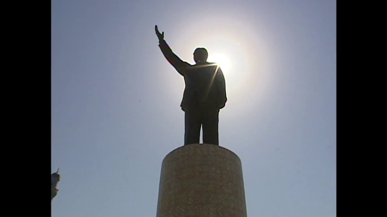 Baghdad July 2002 - Another Statue for Saddam