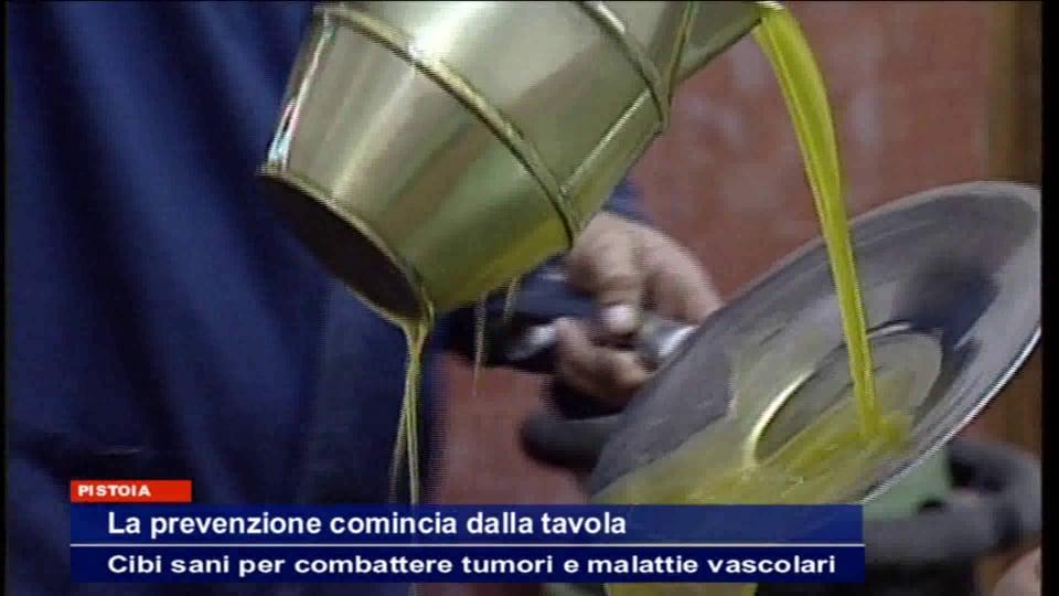 Prevenzione a tavola - Italia7 servizio del tg sul seminario del Centro Chirurgico San Paolo