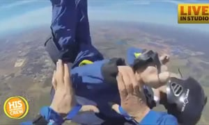 Man Has Seizure While Skydiving