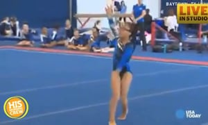 Blind Young Gymnast Sets Sights on Olympics