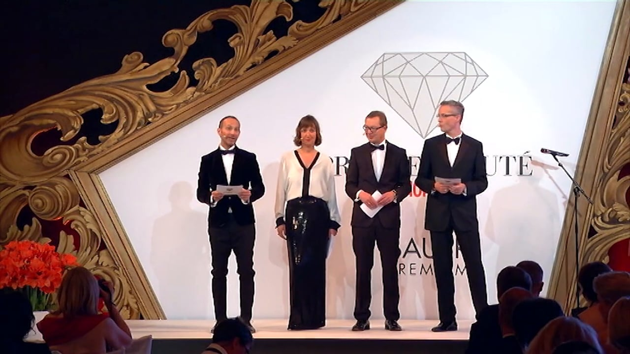 Prix de Beauté 2015 - Preisverleihung