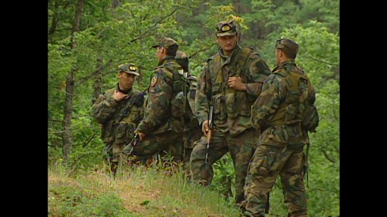 Serbia July 2001 - Serb Forces Move In