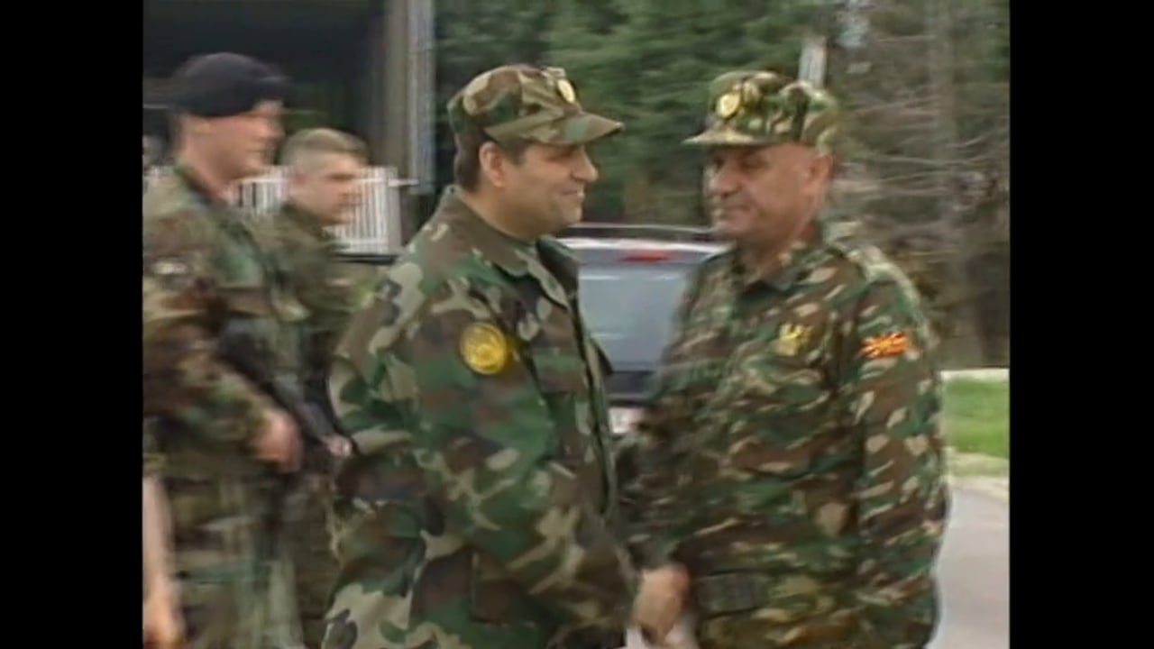 Macedonia July 2001 - The Macedonian President  Speaks Out