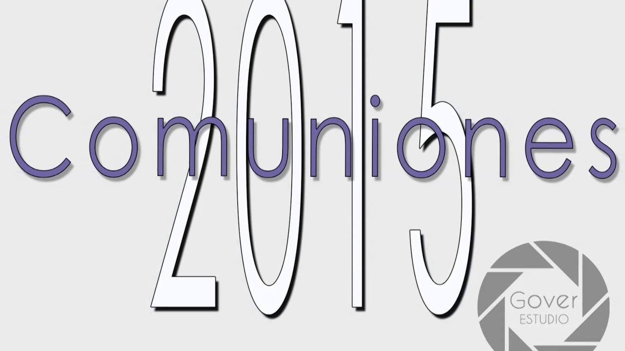 Video comuniones 2015